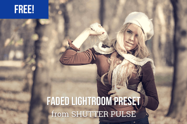 Free Faded Lightroom Preset from Shutter Pulse