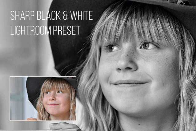 Sharp Black and White from Exposure School
