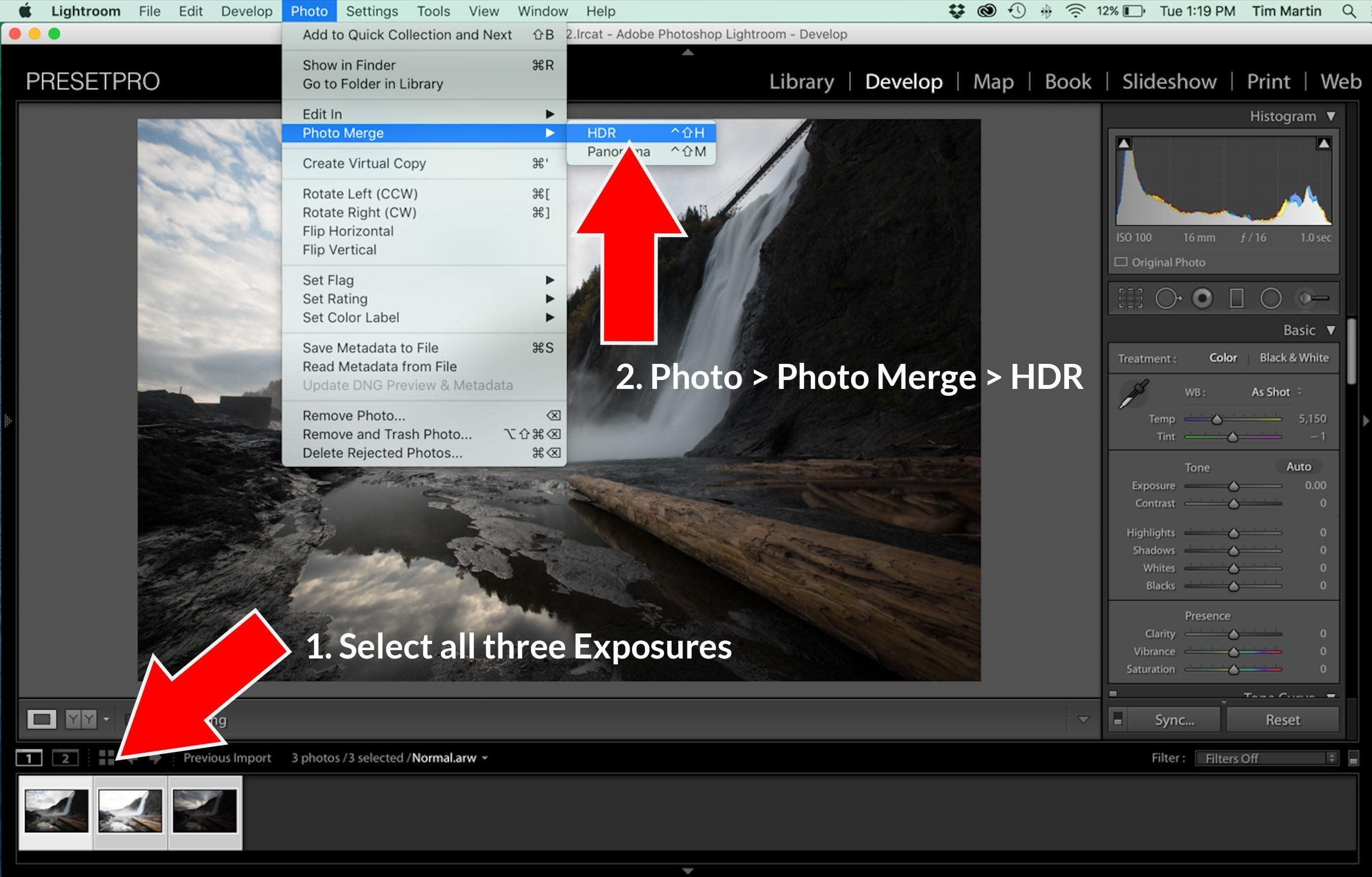 Lightroom Tutorial – HDR in Lightroom 6 & CC