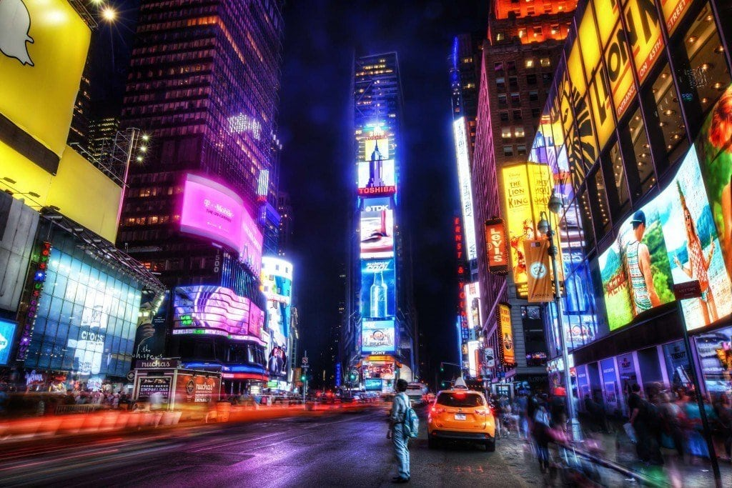 Weekly Photo – Electric Lights New York City