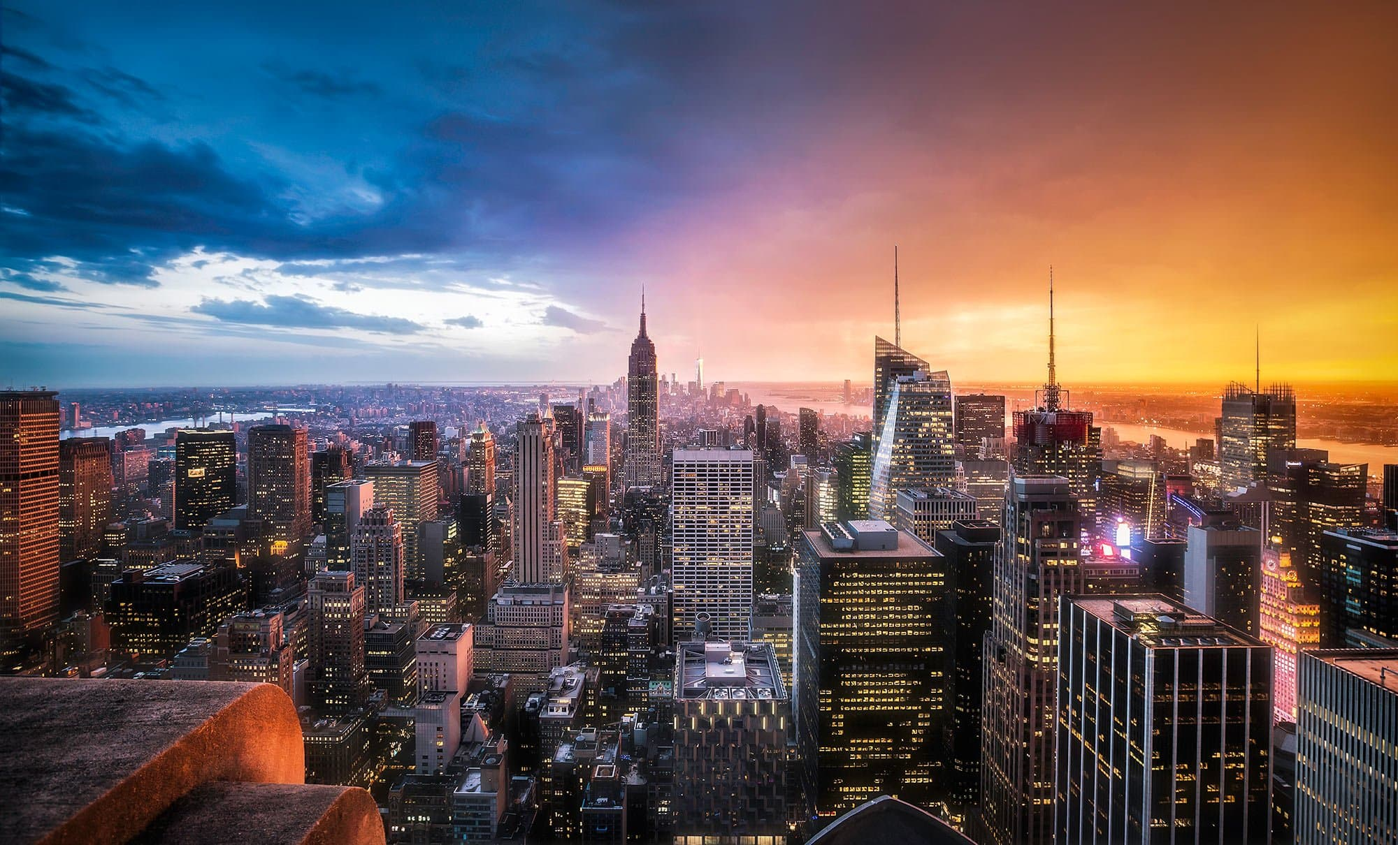 HDR Photography - Day Vs Night In New York City