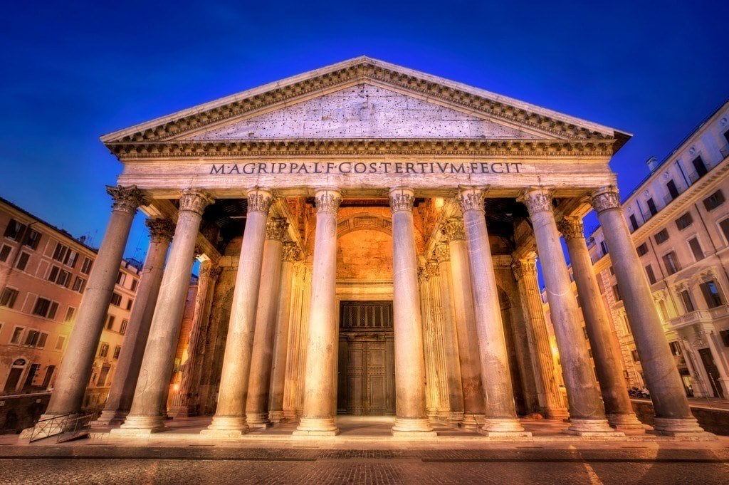 HDR-Photography-Early-Morning-Pantheon
