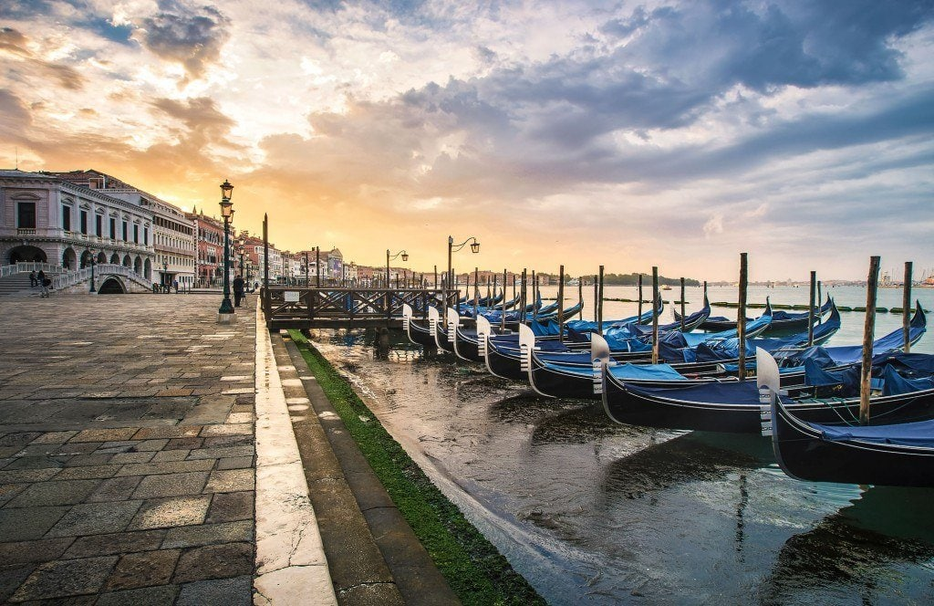 HDR-Photography-Pastel-Sky-Over-Venice