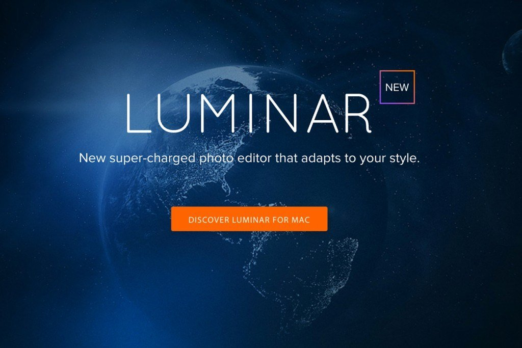 New Photo Editing Software Luminar Pre-Order