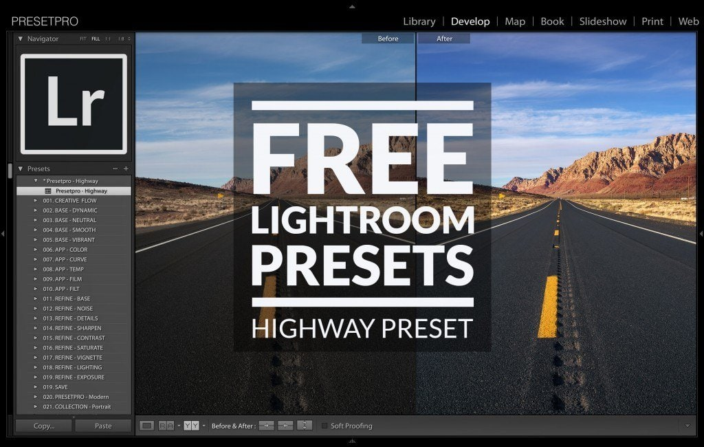 Free-Lightroom-Preset-Highway-Cover