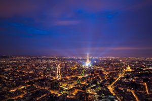 HDR-Photography-Parisian-Skyline