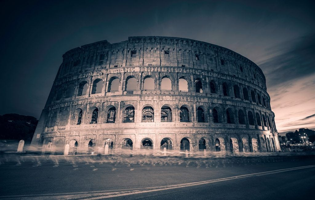 Night-Photography-Ghosting-Through-Rome