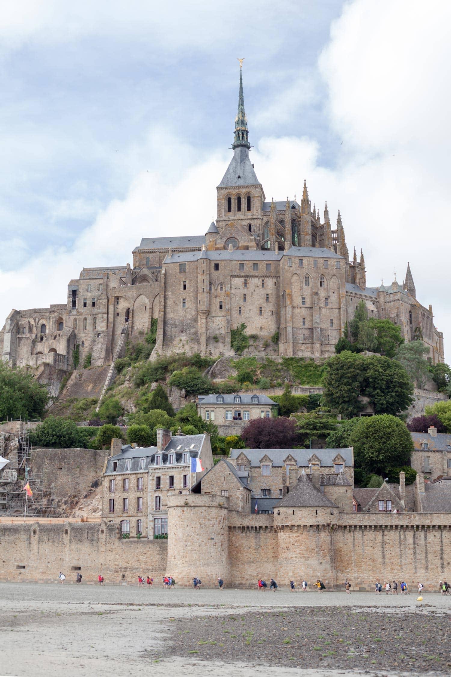 Behind the scenes - Mont Saint Michel
