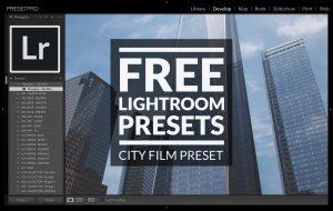Free-Lightroom-Preset-City-Film-Cover